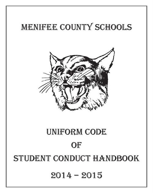 Menifee County Schools Uniform Code of Student Conduct Handbook