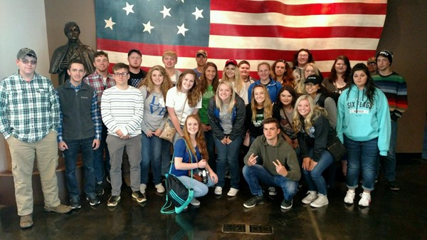 MCHS Seniors at Fort McHenry National Park Baltimore, MD