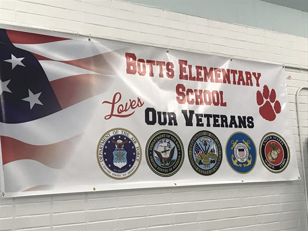 BES Loves Our Veterans