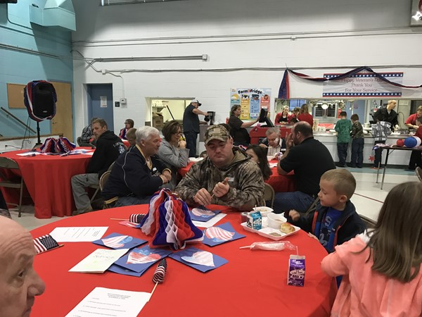 2016 Veterans Day Breakfast