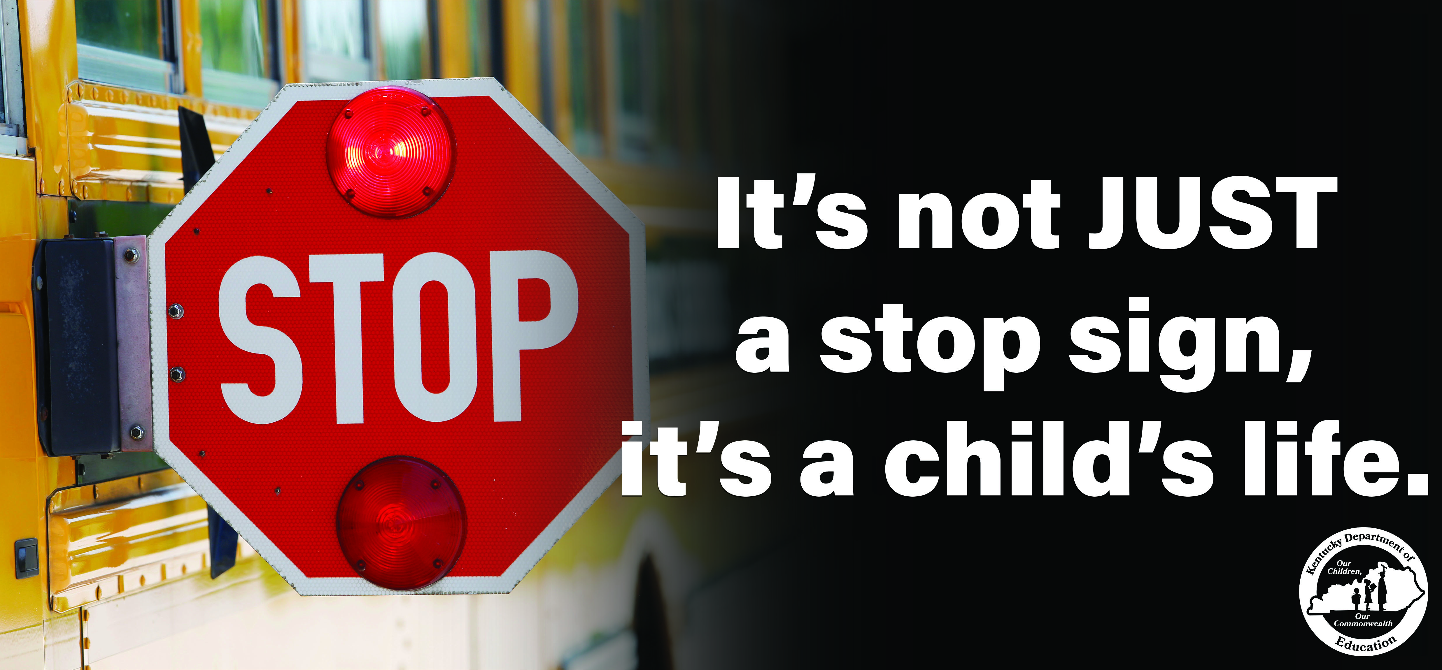 School Bus Safety Billboard
